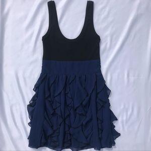 Express Tank Top Dress w/ Chiffon Ruffle Skirt